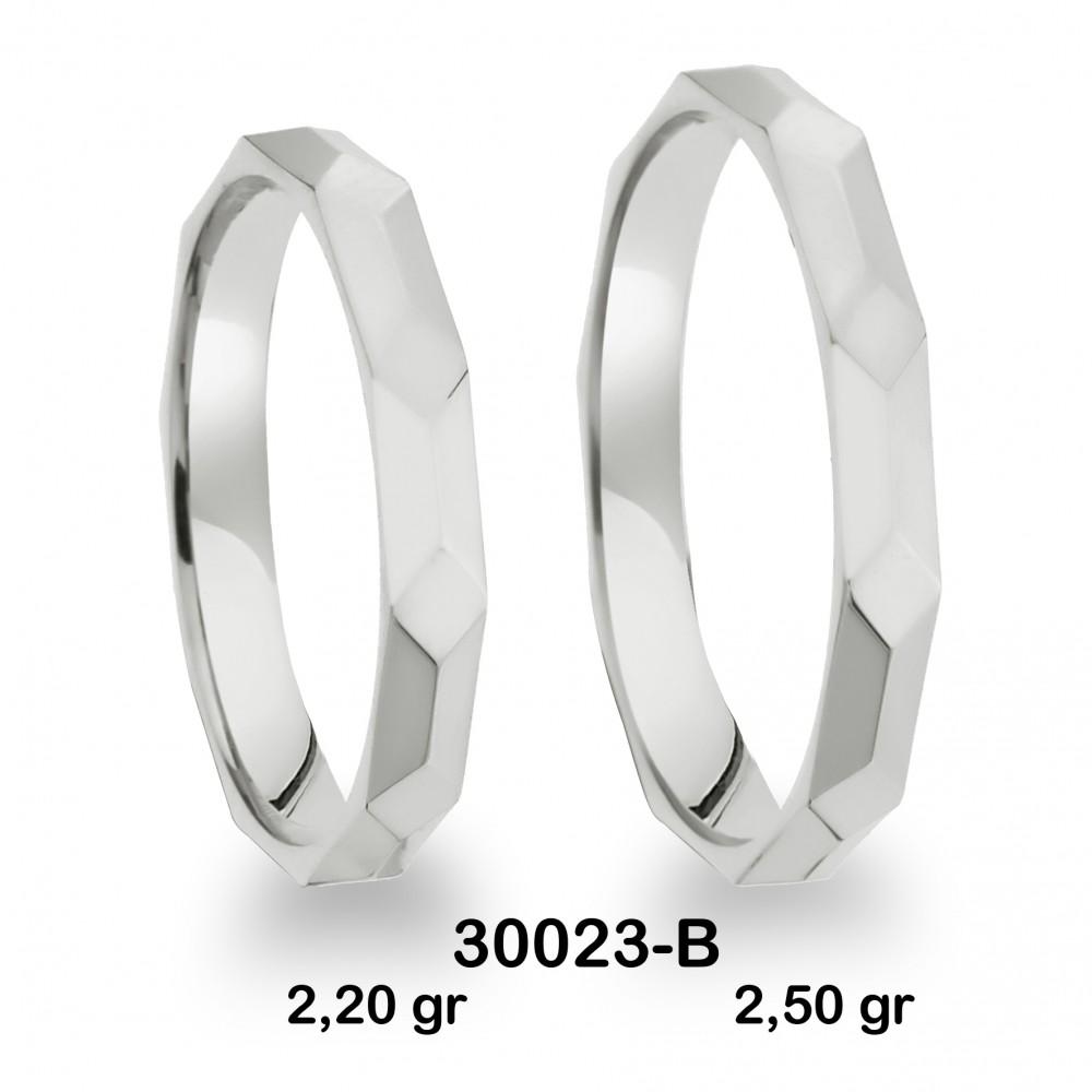 Beyaz Alyans Modelli-30023-B
