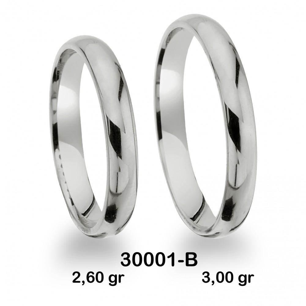 Beyaz Alyans Modeli-30001-B
