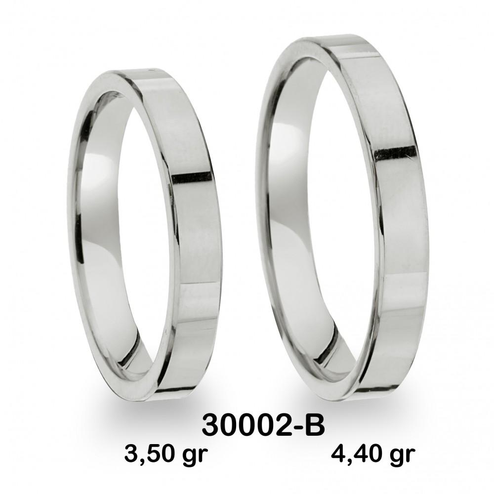 Beyaz Alyans Modeli-30002-B