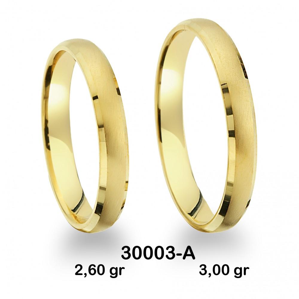 Sarı Alyans Modeli-30003-A