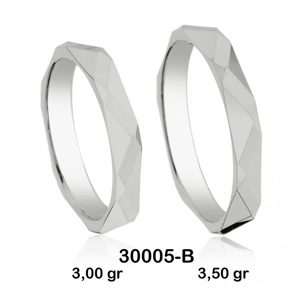 Beyaz Alyans Modeli-30005-B
