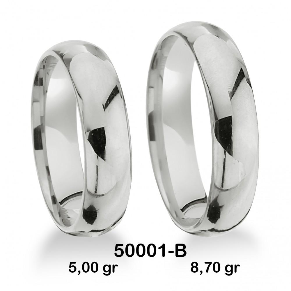 Beyaz Alyans Modeli-50001-B