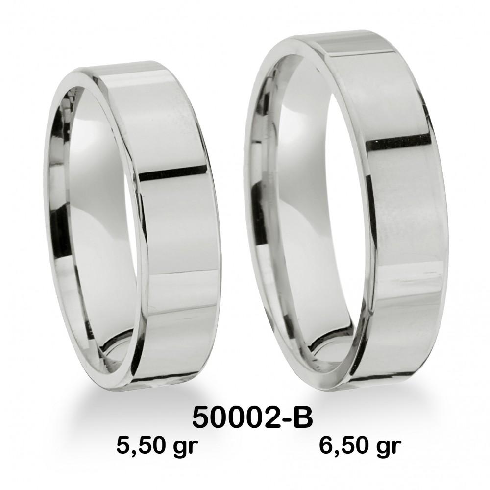 Beyaz Alyans Modeli-50002-B
