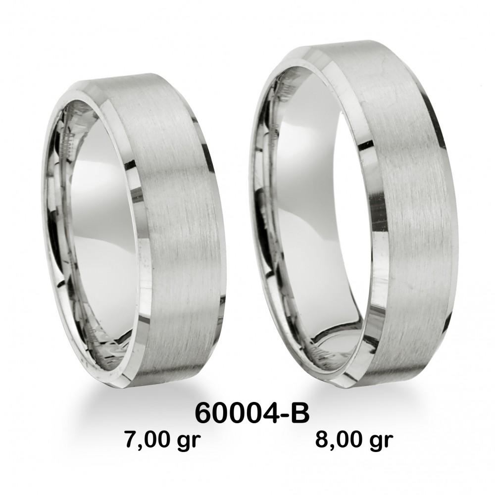 Beyaz Alyans Modeli-60004-B