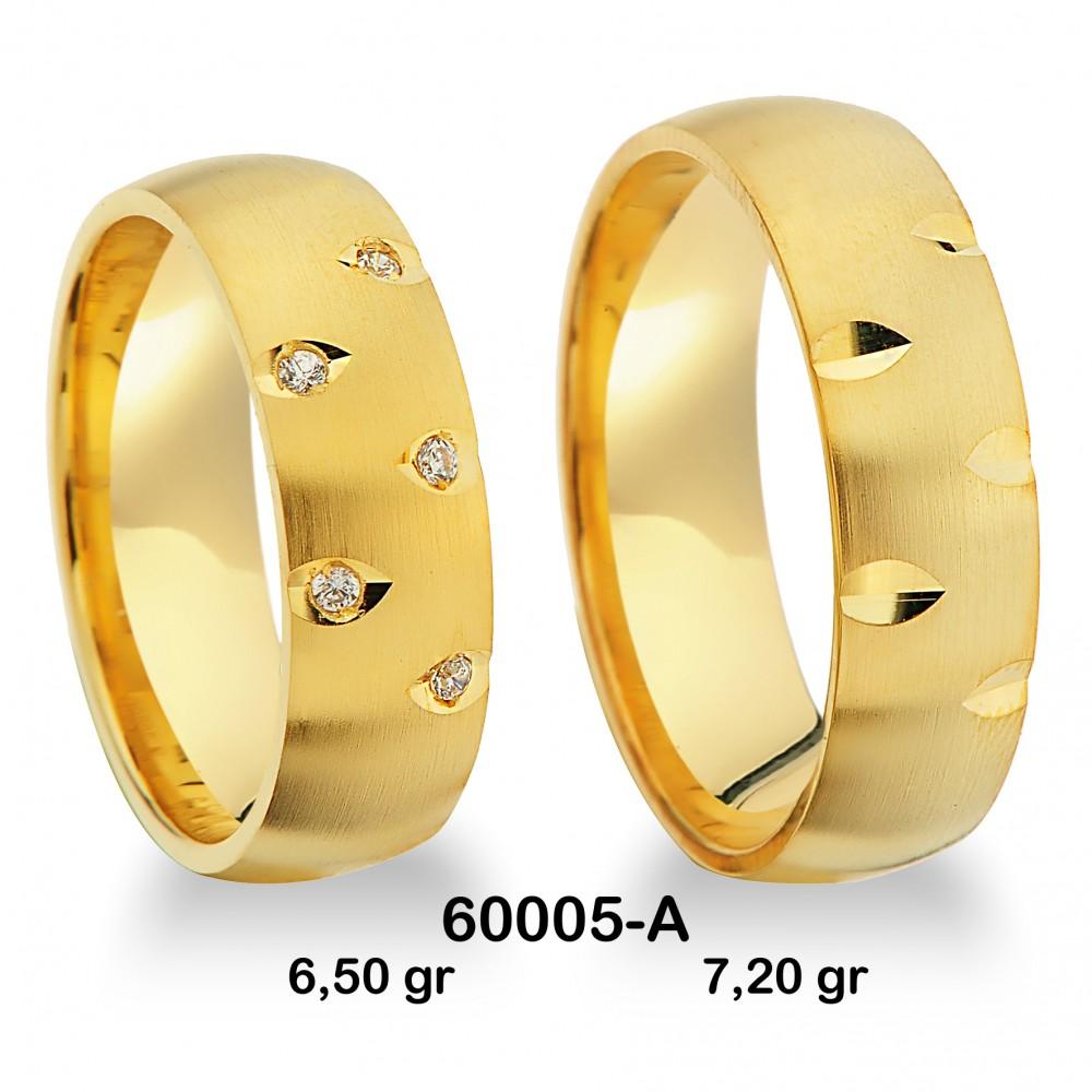 Sarı Alyans Modeli-60005-A