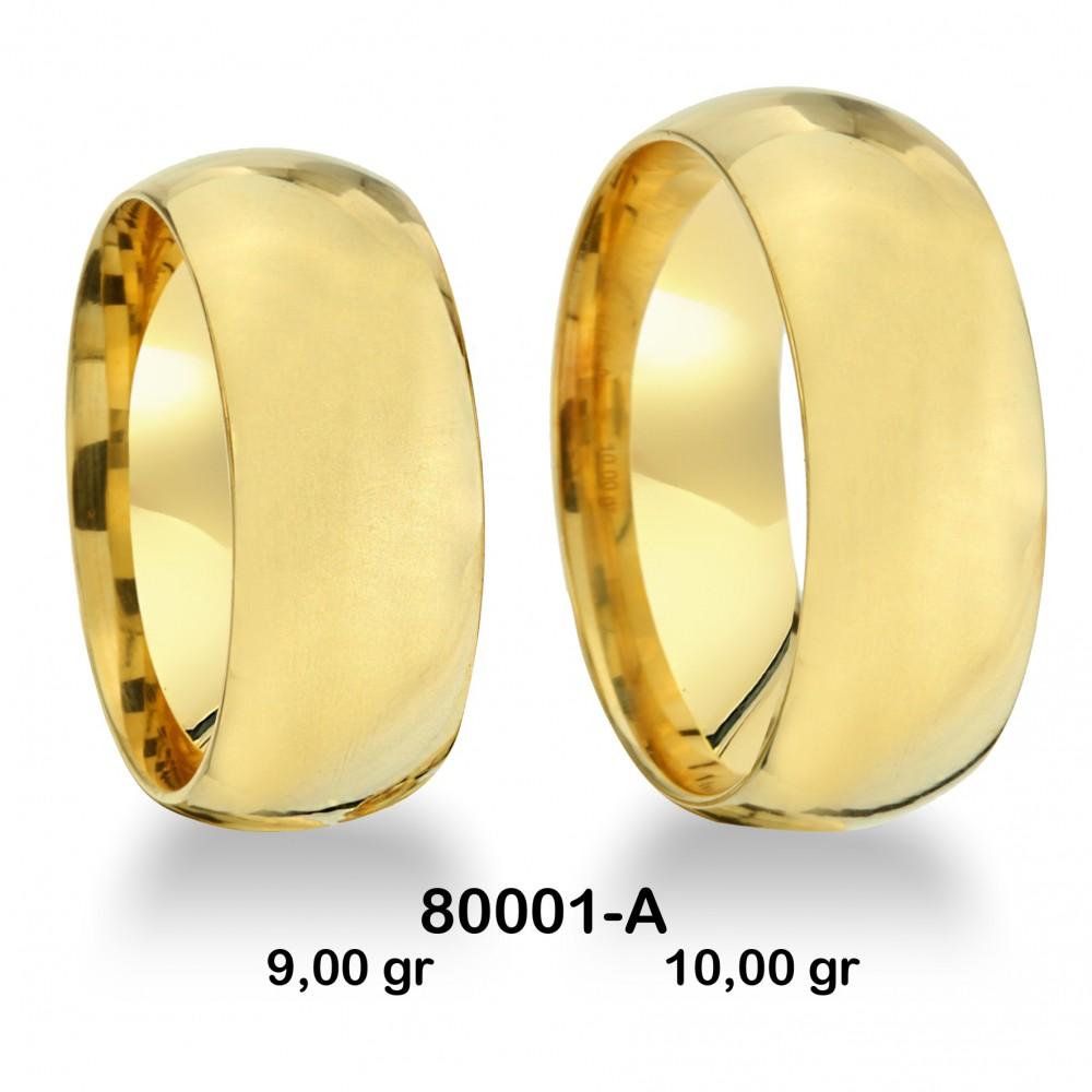 Sarı Alyans Modeli-80001-A