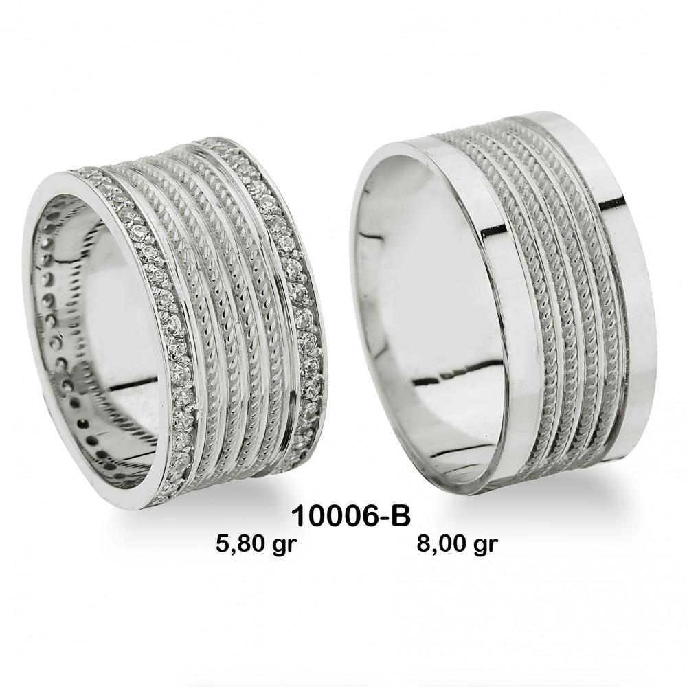Beyaz Alyans Modeli-10006-B