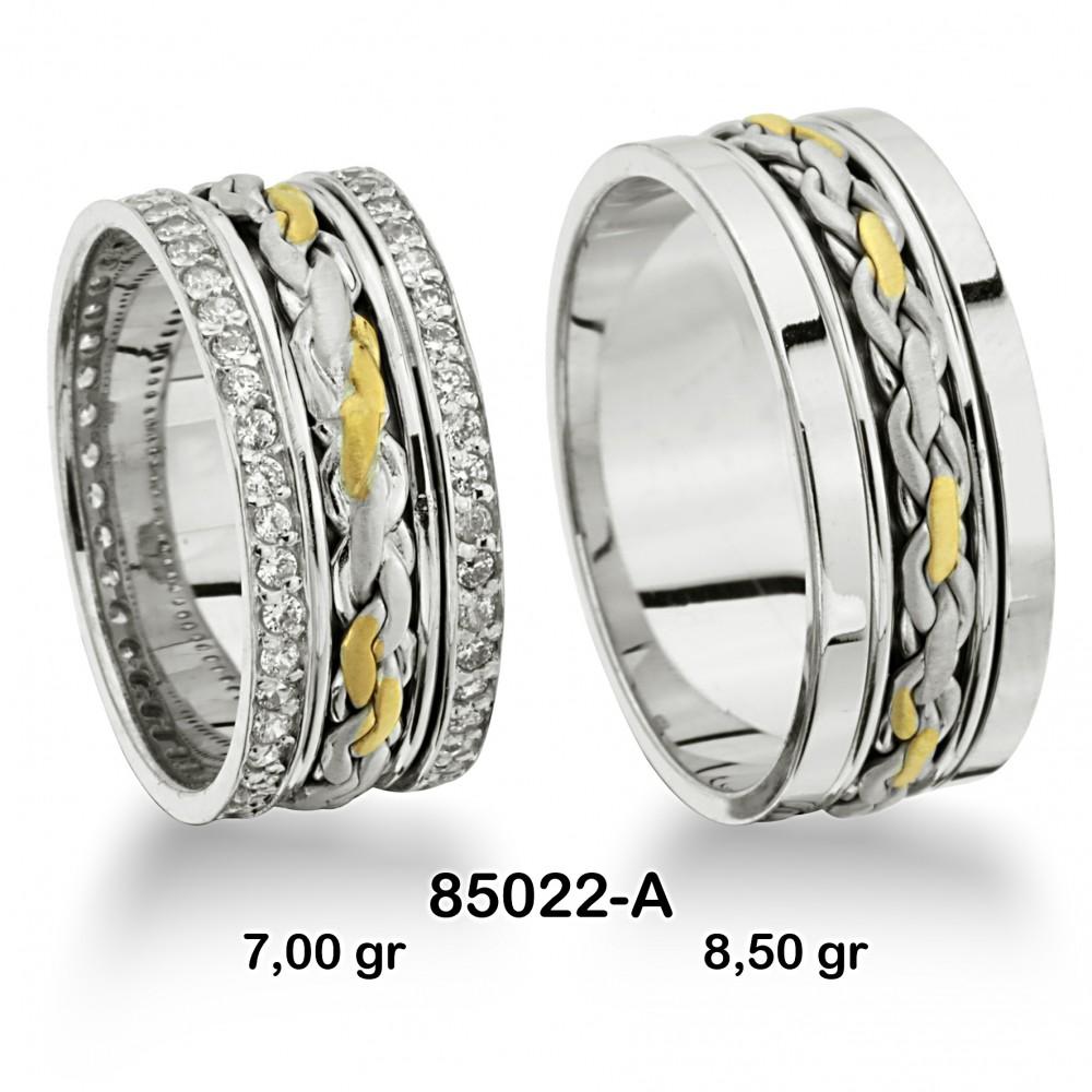 Sarı Alyans Modeli-85022-A