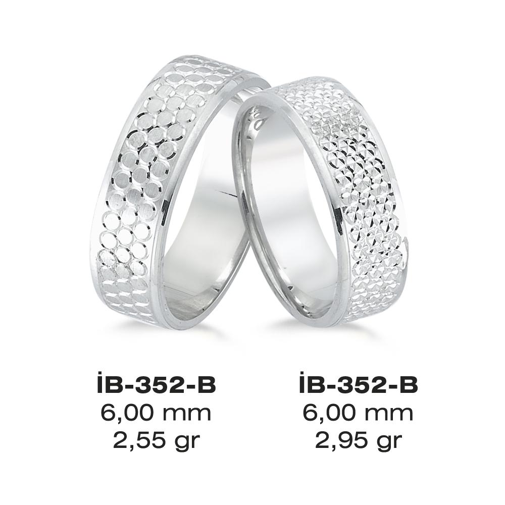 Beyaz Alyans Modeli-352-B