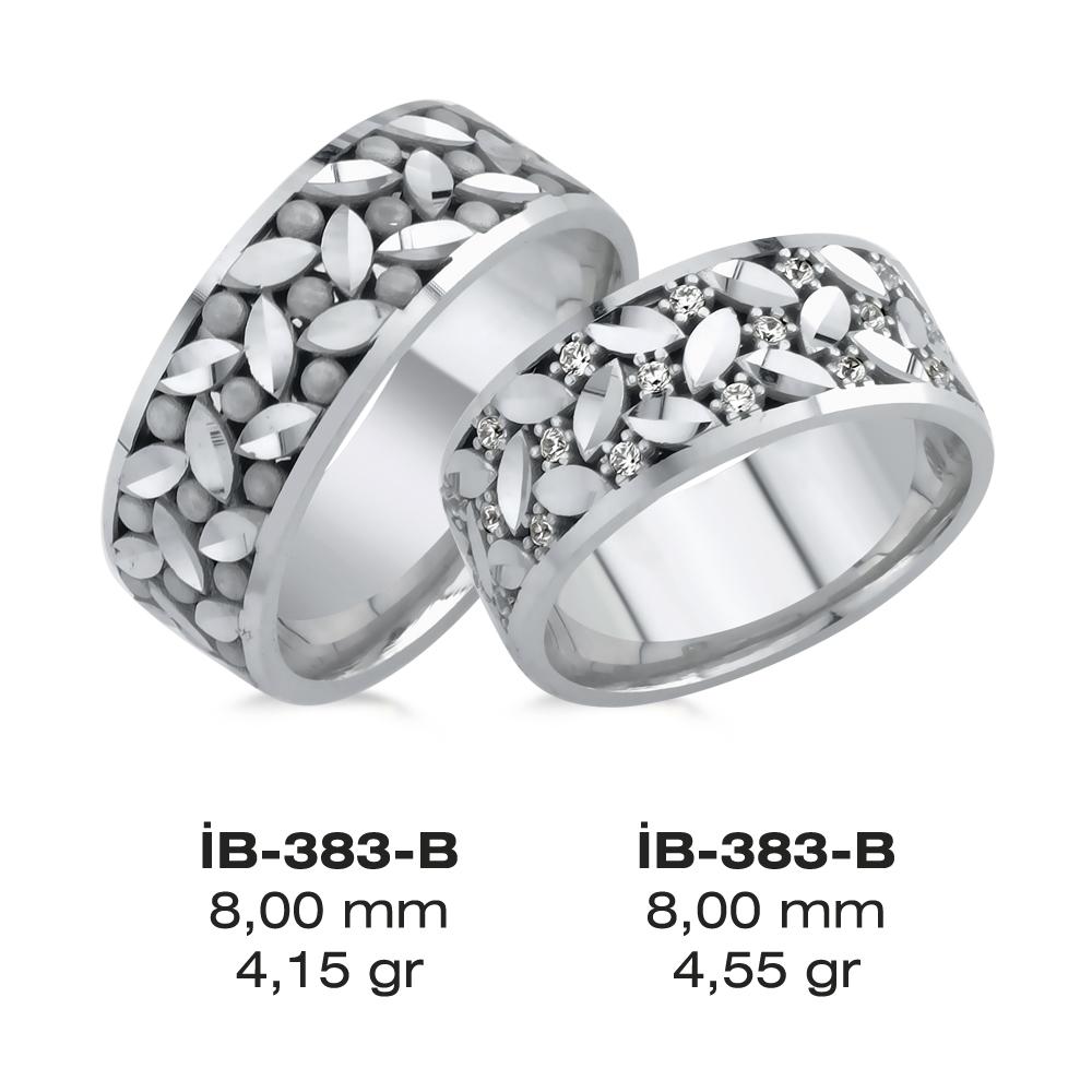 Beyaz Alyans Modeli-383-B