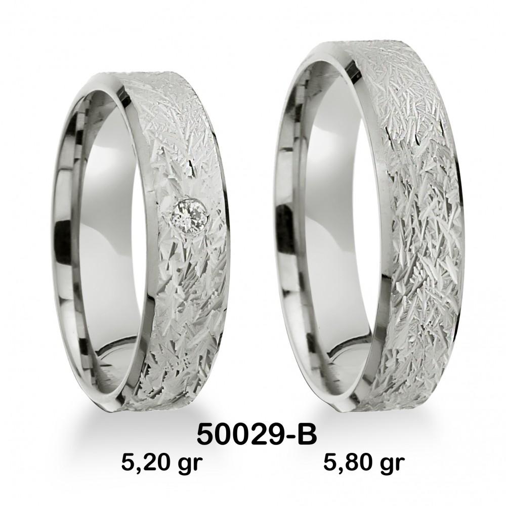 Gümüş Alyans Modeli-50029-B