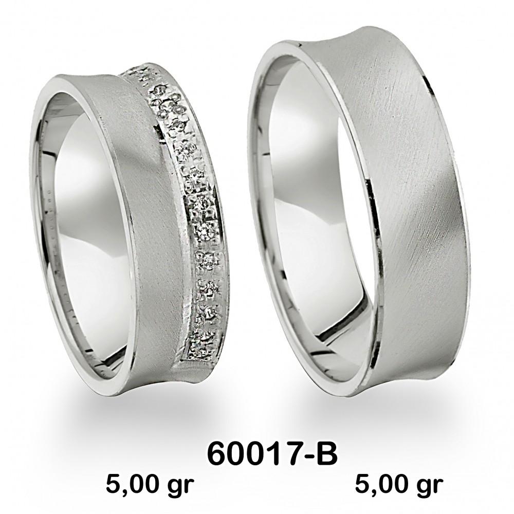 Gümüş Alyans Modeli-60017-B