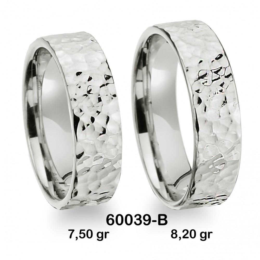 Gümüş Alyans Modeli- 60039-B