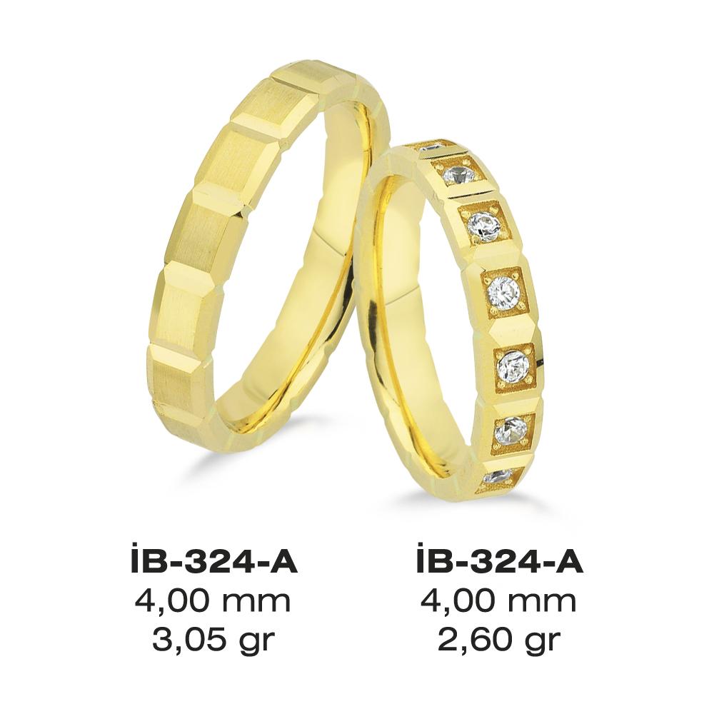 Sarı Alyans Modeli-324-A