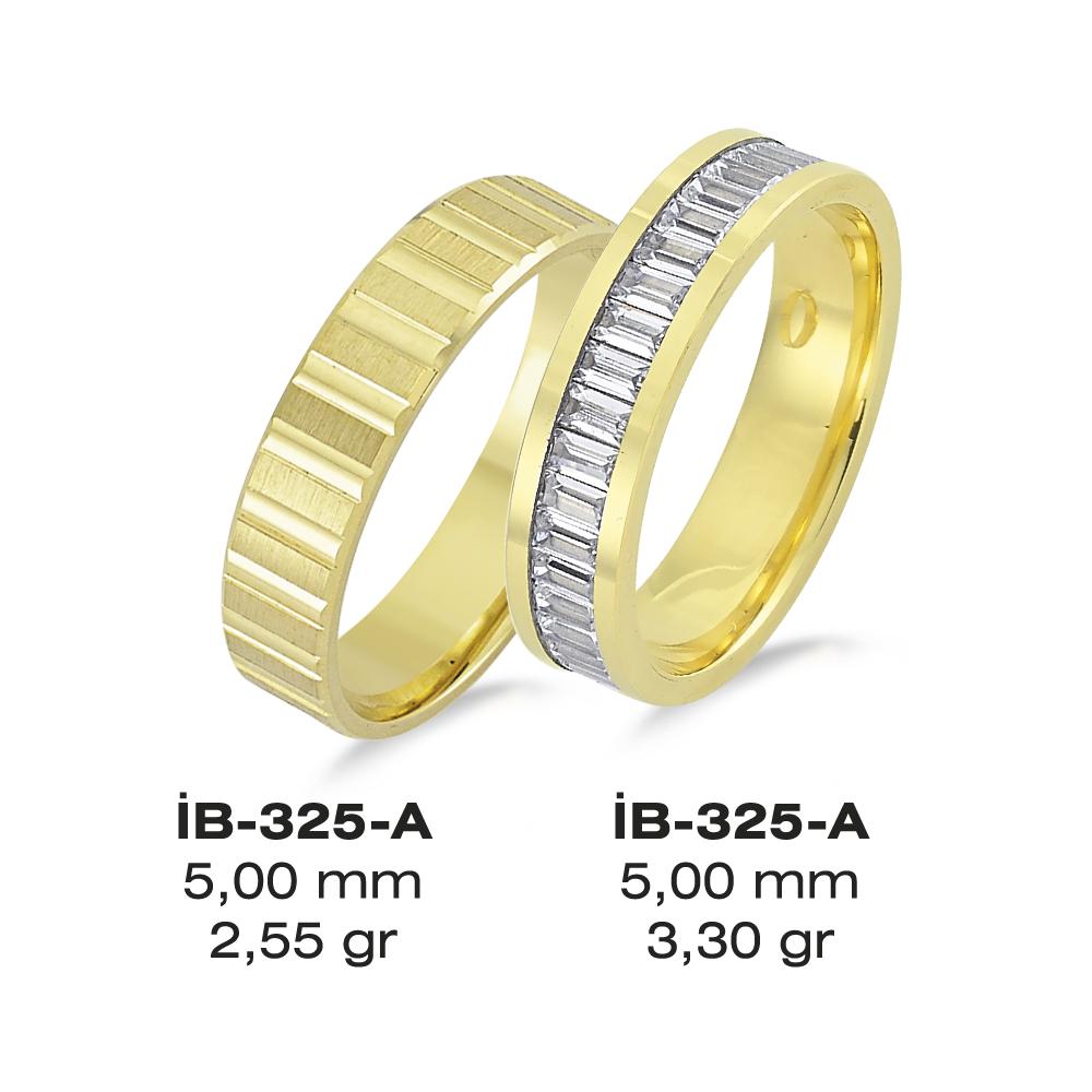Sarı Alyans Modeli-325-A