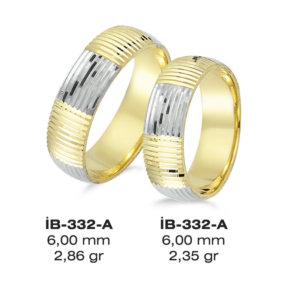 Sarı Alyans Modeli-332-A