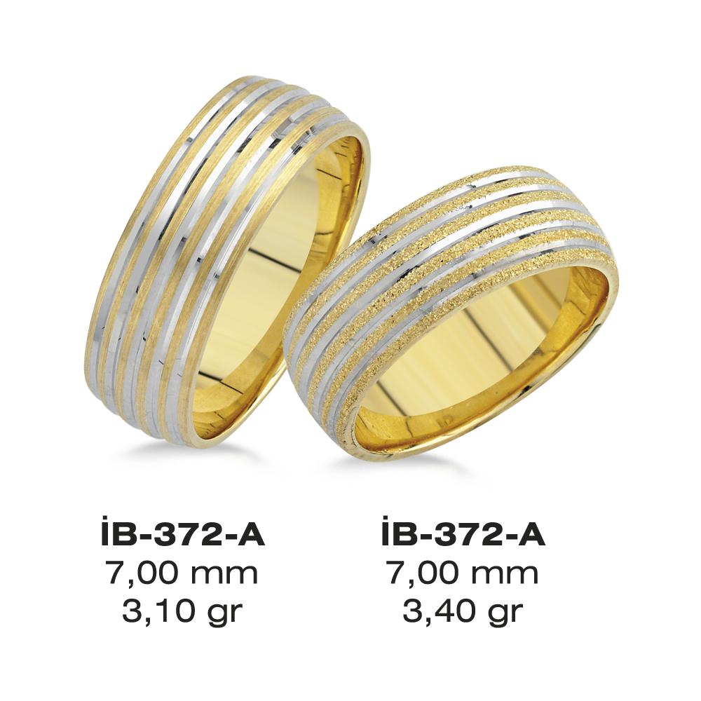 Sarı Alyans Modeli-372-A