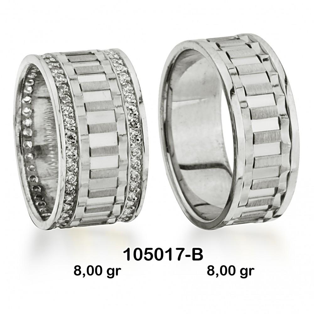 Beyaz Alyans Modeli-105017-B