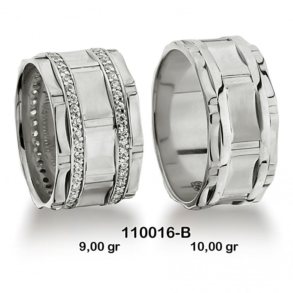 Beyaz Alyans Modeli-110016-B